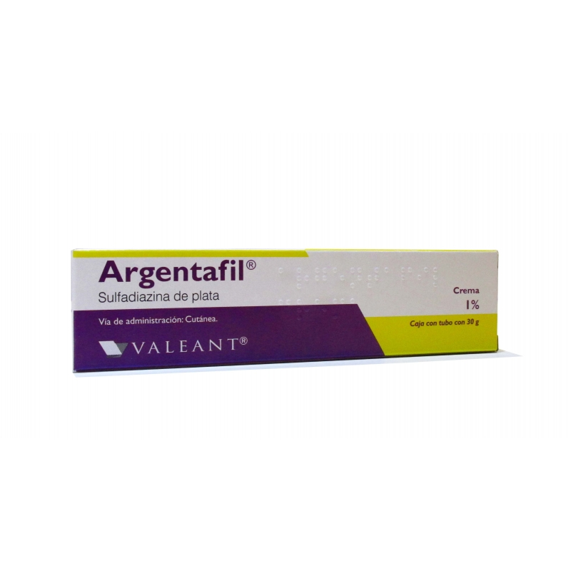ARGENTAFIL ( SULFADIAZINA  DE PLATA) 1%  30G CREMA