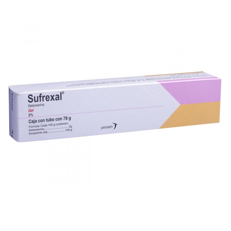 SUFREXAL (KETANSERINE) GEL 78G